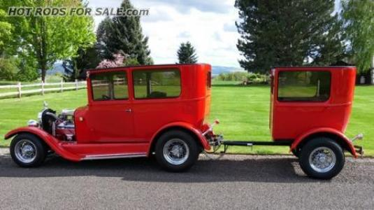 1927 Model T Tudor with Matching Trailer
