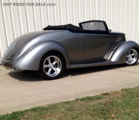 37 Ford Convertible Street Rod